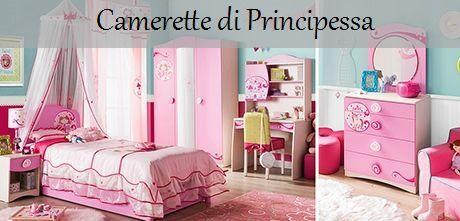 Camerette per bambini - Princess