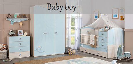 Camerette per neonati - Baby boy