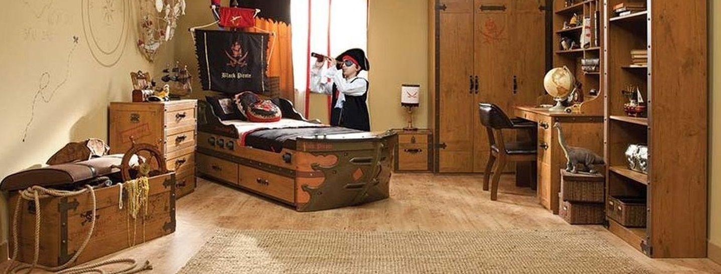 Camerette per bambini - Pirato
