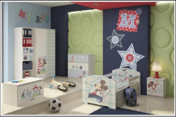 Camerette per bambini - Mickey Mouse