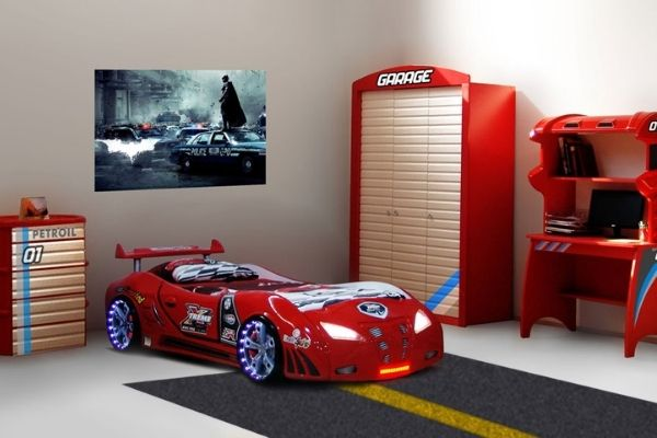 Garage cameretta di macchina