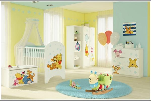 Camerette per neonati - Disney Winnie de Pooh