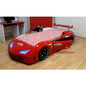 Grand Prix Enzo auto letto - rosso, full - porta aperta dettagli