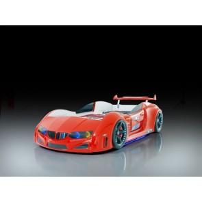 Autoletto a forma di BMW – rosso, full e porta aperta