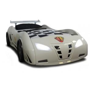 Grand Prix Extreme auto letto - bianco, standard dettagli
