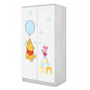 L'armadio a due ante Winnie de Pooh e Baby