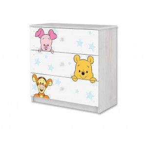 Cassettiera Winnie de Pooh e baby