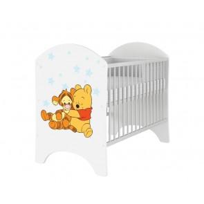Lettino per neonato Winnie de Pooh e baby