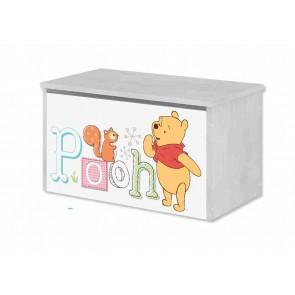 Contenitore per giocatolli Winnie de Pooh e Pimpi