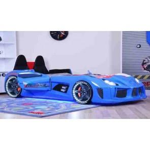 Autoletto con sedili in pelle blu lucido – GTR