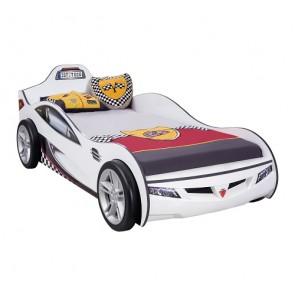 Autoletto Coupe (bianco) per bambini (90x190 cm)