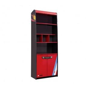 Libreria per bambini (rosso) - Racer