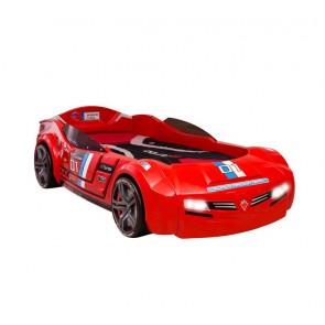 Autoletto Biturbo (90X195) - rosso - Racer