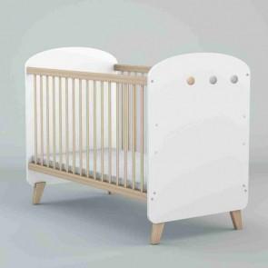 Lettino (60x120) nella stanza del bambino -  Colette bianco
