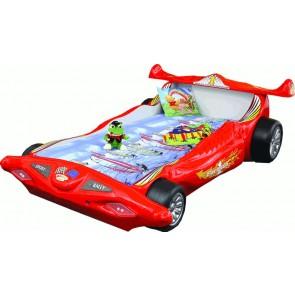 Letto Macchina Formula 1 F1 - rosso