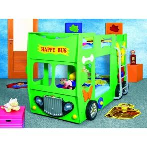 Letto Happy Bus - verde