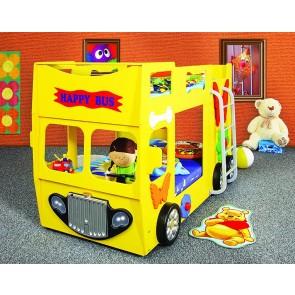Letto Happy Bus - giallo