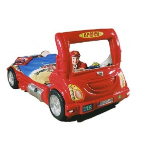 Letto Camion - rosso