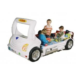 Letto Camion - bianco - e materasso a gratuito