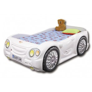 Letto Macchina SleepCar - bianco